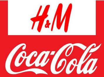 h&m y cocacola