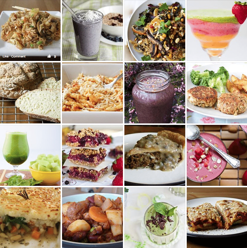 40 recetarios veganos