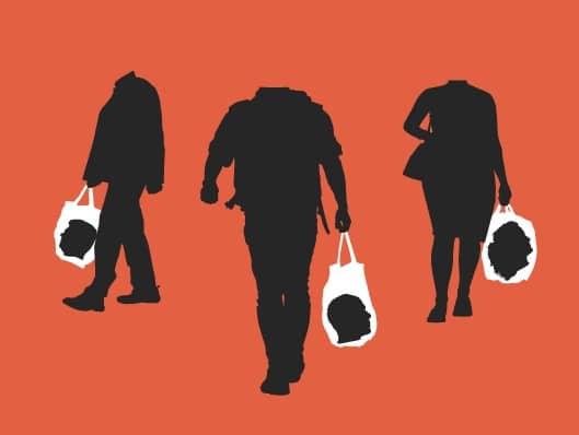 ropa vegana. consumismo