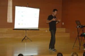 Conferencia Alimentación - Madrid, Victor Suarez