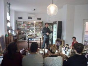 Conferencia Tienda Mama Eco, Madrid - Victor Suarez