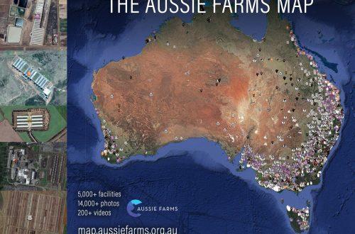 Mapa Aussie Farm Australia