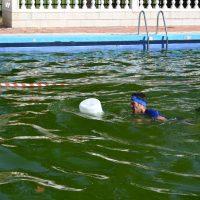 The Forest Challenge 2019 – Sotillo de la Adrada agua piscina con bidon. Victor Suarez