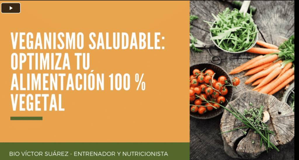Veganismo saludable - Conferencia Victor Suarez
