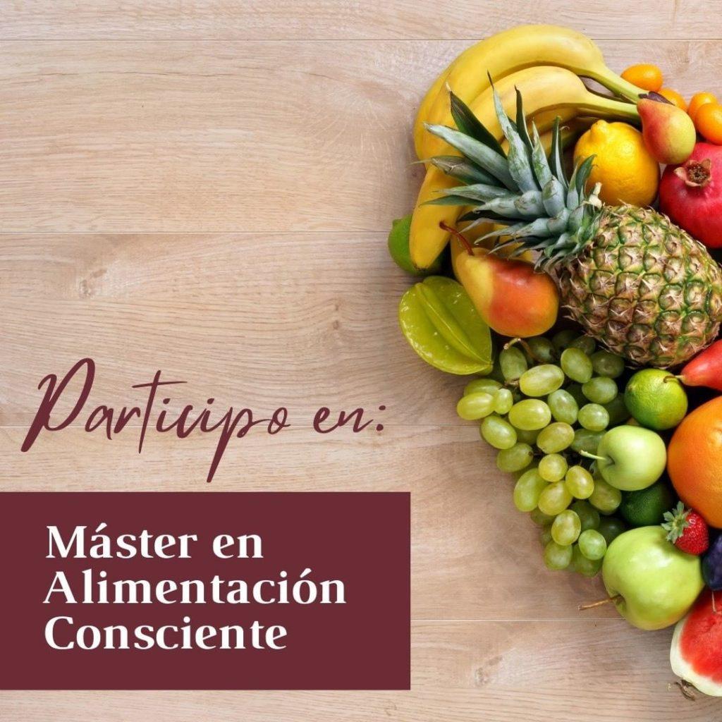 ¡Os anuncio mi participación en el «Máster de Alimentación Consciente» de @kuestiona ! 💚