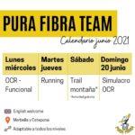 ¡#PuraFibraTeam empieza el 1 de junio! 🔥